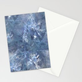 Frozen Sapphire Stationery Cards