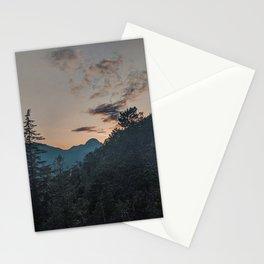 Squamish Sunset Stationery Cards