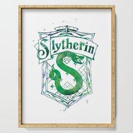 Slytherin Crest Serving Tray