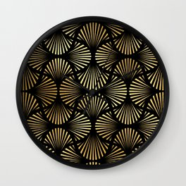 Breathtaking Art Deco Pattern: Making My Grand Entrance Wall Clock