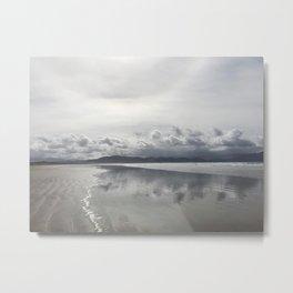 Inch Strand beach in Ireland Metal Print