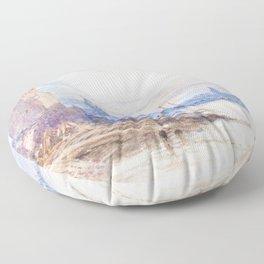 Myles Birket Foster - Cologne Moonrise - Digital Remastered Edition Floor Pillow