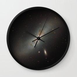 Leda NGC 4424 The Beautiful Universe Wall Clock