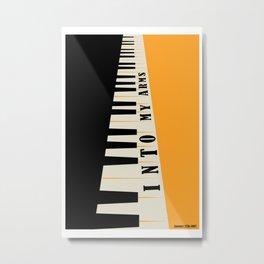 Into My Arms Poster - Music Wall Art - Band Print Metal Print