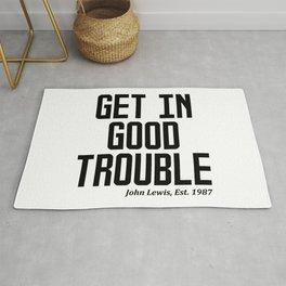 GET IN GOOD TROUBLE - JOHN LEWIS Rug