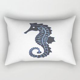 seahorse, sea, ocean, vacation, holiday, man, woman, summer, sea Rectangular Pillow
