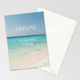 Offline is the new luxury Stationery Cards