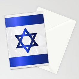 Israel Star Of David Flag Stationery Cards