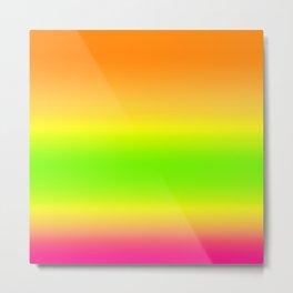 Summer Colors Gradient Metal Print