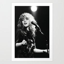Stevie Nicks Music Poster Canvas Wall Art Home Decor, No Frame Art Print Art Print