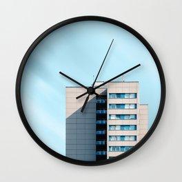 Minimalist architecture in Berlin Wall Clock