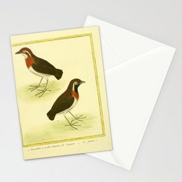 022 fuirmillier a oreilles blanches (Fr)2 Stationery Cards