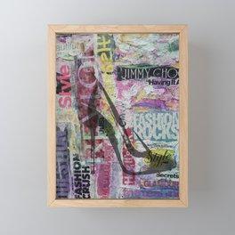 Fashion Diva Framed Mini Art Print