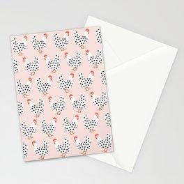 Dot Dot Chicken | Pink Stationery Cards