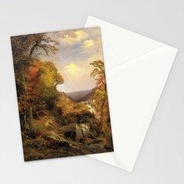 On The Wissahickon Near Chestnut Hill 1870 By Thomas Moran | Philadelphia Scenic Reproduction Stationery Cards
