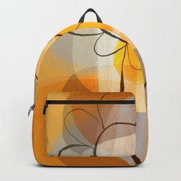 Sunshine flower boho mid century Backpack