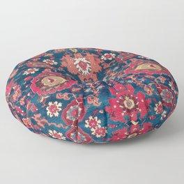 Garahgozloo Hamadan West Persian Rug Fragment Floor Pillow