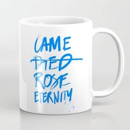 #JESUS2019 - Came Died Rose Eternity (blue) Coffee Mug