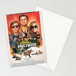 Once Upon a Time in Hollywood Stationery Cards
