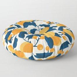 Vintage Apricot Pattern Floor Pillow