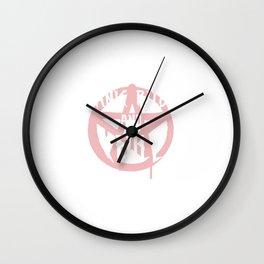 Satanic Rituals And Chill Wall Clock