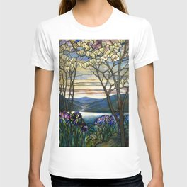 Louis Comfort Tiffany - Decorative stained glass 5. T-shirt