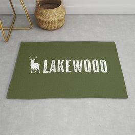 Deer: Lakewood, Colorado Rug