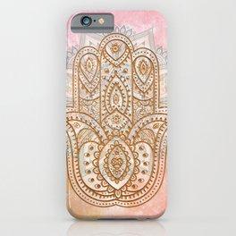 Summer Hamsa iPhone Case