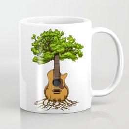 Acoustic Guitar Tree Of Life Coffee Mug
