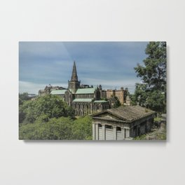 Glasgow Cathedral Metal Print