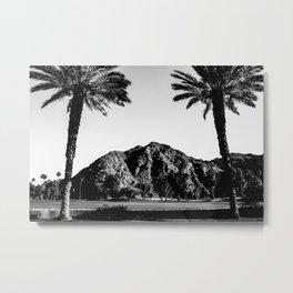 Indian Wells Metal Print