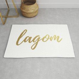 Lagom - Gold Foil Rug