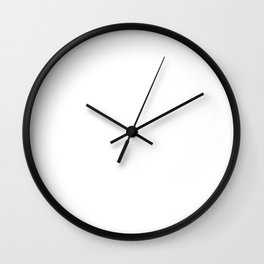 Life Is Short - Lacrosse Design Wall Clock