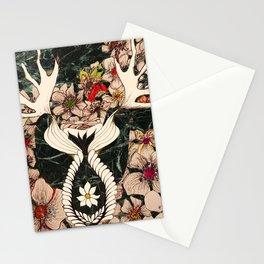 Forest of shrimp Stationery Cards