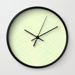 Light beige texture. Wall Clock