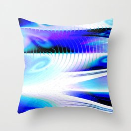 Flow or Crash Throw Pillow