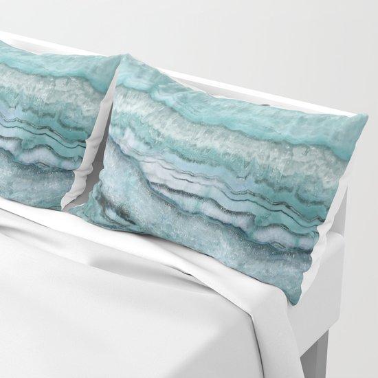 Mystic Stone Aqua Teal by lisaargyropoulos