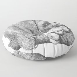 Slow Loris (Kera Duku) Floor Pillow