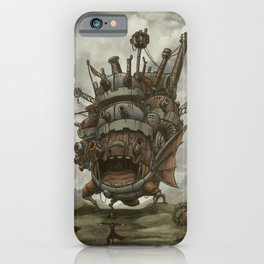 Howl´s moving castle by Aleck iPhone Case