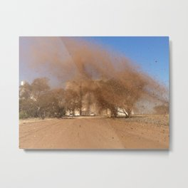 Aussie Dirt Metal Print