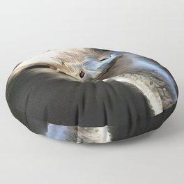 Ostrich Head Floor Pillow