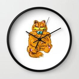 Cat Cartoon Wall Clock