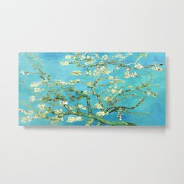 Vincent Van Gogh Almond Blossoms Metal Print