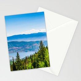 Park City Deer Valley Utah Landscape Print Stationery Cards