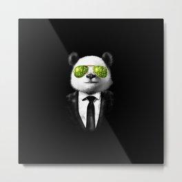 Mr Panda  Metal Print