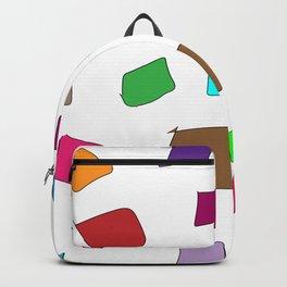 Hand Drawn Wannabe Squares (Jamison) Backpack