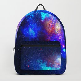 Blue Starry Space - Starry Galaxy Backpack