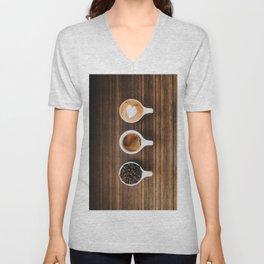 Delicious Coffee Unisex V-Neck
