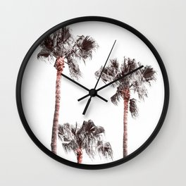 California Palms Wall Clock