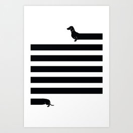 (Very) Long Dog Kunstdrucke
